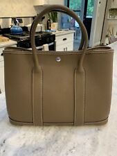 garden party leather bag
