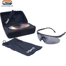 Viper Tactical Shooting Glasses Airsoft Safety Multi Lense Kit UV400 Protection