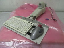 Ergotron Arm with Keyboard and Logitech Trackball, Mouse, 415800
