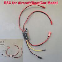Passt ESC 10Ax2 2S-4S 2CH Für RC Boot Auto Aircraft Brushed Motordrehzahlregler