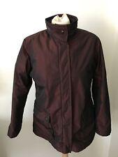 Allegri Womens Jacket Coat W/ Hood Sz 44 Italy