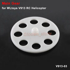 Main Big Gear Wheel WLtoys V913 RC Remote Control Helicopter Kit Spare Parts