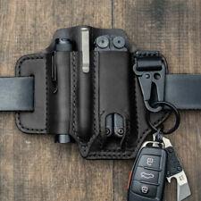 Multitool Leather Sheath EDC Pocket Organizer - High Leather Quality