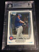 2011 Bowman Chrome Draft Prospects #BDPP6 Javier Baez BGS 9 Chicago Cubs Rookie