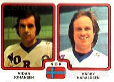 1979 Panini Stickers #299 Vidar Johansen, Harry Haraldsen