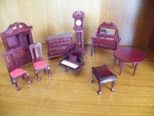 Mixed Lot Dolls' Miniature Furniture without Custom Bundle