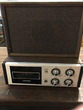 Vintage Soundesign 8 Track Player Model 4843 With Speaker