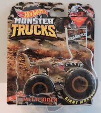 2018 Hot Wheels Monster Trucks Camo Chashers Flag Series - Mega-Wrex 1:64