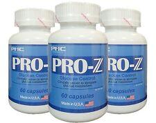 PNC ORIGINAL PRO-Z 3 Bottles (STIMULATE & GLUCOSE CONTROL) FREE US SHIPPING