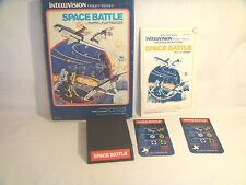Space Battle Blue Box (Intellivision, 1980) with Keypad covers