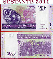 MADAGASCAR - 1000 1.000  ARIARY 2004 - Sign. 6  - P 89b - FDS / UNC