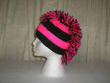 Mohican Style Tricot Chapeau, Festival, Gothique, motard, Punk, Emo, football