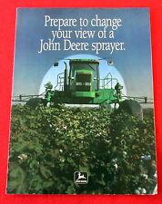 John Deere Sales Brochure Model 4700 Sprayer c