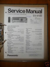 Panasonic Reparacion De Manual Servicio SV-4100 Digital Tape Recorder,ORIGINAL