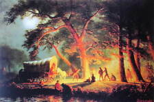 vintage Wagon Train Camp Fire