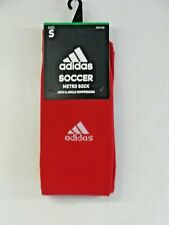 6ec2fc7da808 adidas Metro Soccer Socks Color Red 5137789 Size Small With Tags