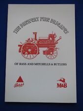 Bass & Mitchells & Butlers Brewery - The Brewery Fire Brigades  booklet   1970's