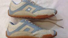 Aragò - scarpe da ginnastica - n° 39 - celeste bianco - con stringhe - USATE