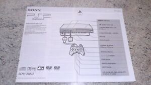 SONY PLAYSTATION 2 INSTRUCTION MANUAL. EXCELLENT ORIGINAL CONDITION.