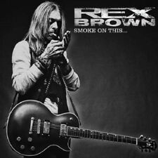 REX Brown/Smoke on it * NEW CD 2017 * NUOVO *