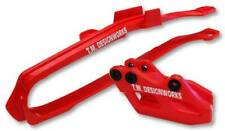 T.M. Designworks GP Motocross Slider-N-Guide Kit Red Honda CRF250R CRF450R