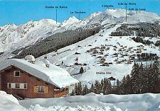 BF608 la clusaz les principales pistes de ski   France