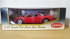 1:18 Kyosho ACURA HONDA NSX TYPE S RED 08081R diecast car model NEW