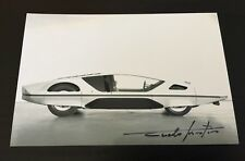Autographe Photo Signed Chief Designer Pininfarina Ferrari Modulo