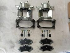 2x Front Caliper Complete & Ceramic Pads for Dodge Journey 2009-2013 BRK/JC/004A