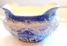 Blue Florian Moorcroft Pottery