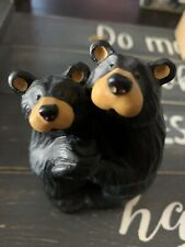 "Bearfoots Black Bears Hugging Jeff Fleming Montana ""Bearfoot Swing�"