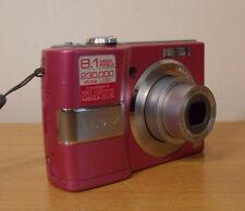 Pink Panasonic LUMIX DMC-LS80 8.1MP Digital Camera Working