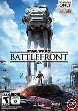 STAR WARS BATTLEFRONT PC  GAME NEW