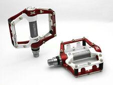 "rouge/blanc WELLGO XPEDO mx18ac MTB V. T.C.pédales 9/16 "" Alliage d'aluminium W2"