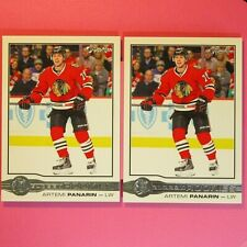 Lot of 2   ARTEMI PANARIN  2015-16  ROOKIE  OPC GLOSSY  #R4   Chicago BlackHawks