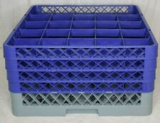 Noble Commercial 25 Cup Glass Tray Rack W/ 4 Extenders New
