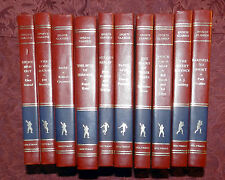 HOLTZMAN SPORTS CLASSIC 10 VOL. AUTOGRAPHED HARDCOVER DELUXE LIMITED EDITION SET