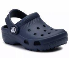 Crocs Coast Clog Navy Blue 204094 410 Classic Sandals Kids Toddler Size C12 New