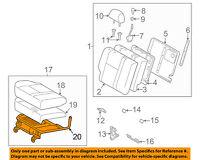 Genuine Hyundai 46720-2C400-LK Gear Shift Lever Knob Assembly