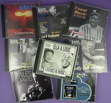 Selection of Jazz CDs - Miles Davis, Count Basie, Art Tatum etc.