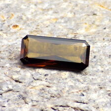 SUNSET TOURMALINE-TANZANIA 1.39Ct FLAWLESS-FOR JEWELRY-DEEP ORANGE / MAHOGANY