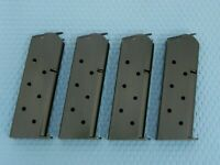 Metalform 1911 Officer 6 Round Magazine, 4 Pack, Welded Base, Blue