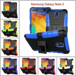 Samsung Galaxy Note 3 Heavy Duty Armor Phone Case Cover with Stand