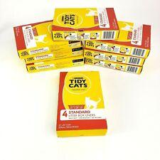 "New listing 8 Purina Tidy Cats Cat Box Kitty Litter Liners 22"" x 30"" 4 per box multiple"