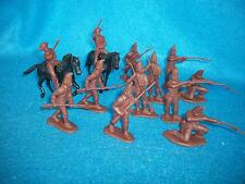 CTS Revolutionary War Hessian Soldiers 1/32 Brown 14pcs