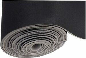 """Black Automotive Headliner Replacement Fabric 60"""" Wide -Foam Backed -By the Yard"""