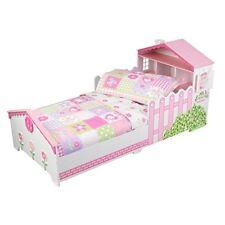 KidKraft Dollhouse Cottage Toddler Bedding 4 pc Set 77008 Crib Mattress NEW