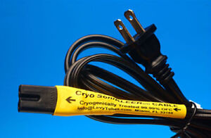 CRYO SoniKLEER AUDIO CD PLAYER/TUNER/DACS 6' POWER CORD FOR TUBE SOLID STATE C7