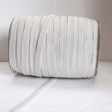 Elastique Plat Couture 10mm Blanc :  x 5 Mètre ou x 10 Mètres