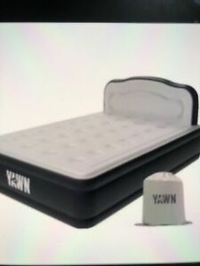 YAWN King Size Bed Self-inflating Airbed Mattress with Built-in Pump